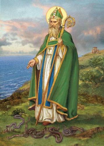 Jeudi de la Passion,St Patrick,Patrice,évêque,apôtre,Irlande
