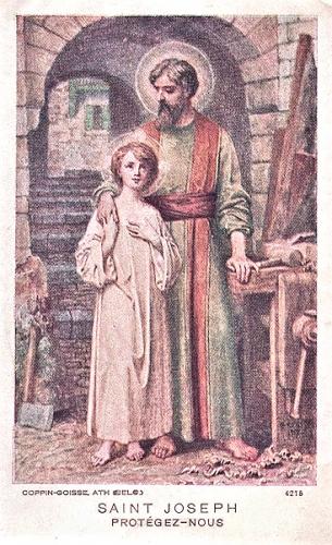 Mgr Gay,Saint Joseph,époux,Ste Vierge,patron,Eglise universelle,juste,sanctuaire,tabernacle,prédestination,fidélité,grâce