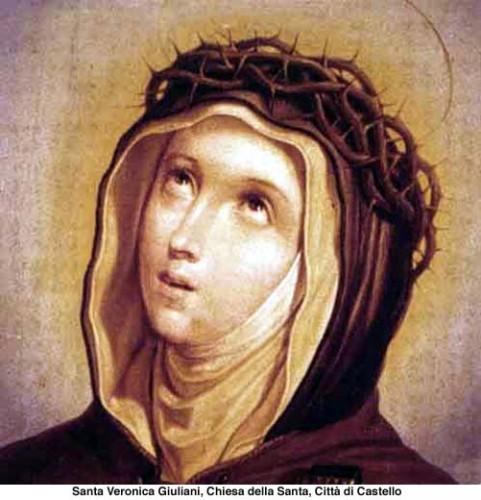 Sainte,Véronique Giuliani,prières,Coeur,jésus