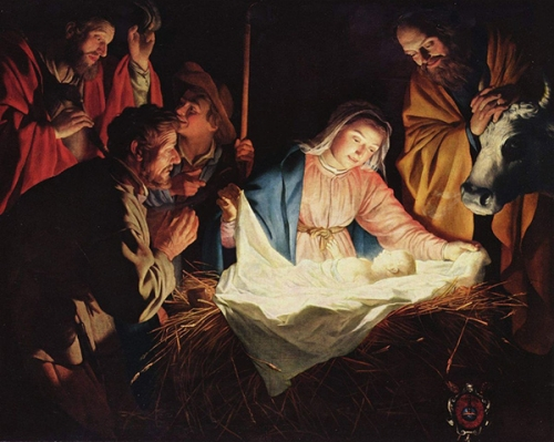Noël,Nativité,François Garagnon,Jésus,lumière,feu,flamme,amour