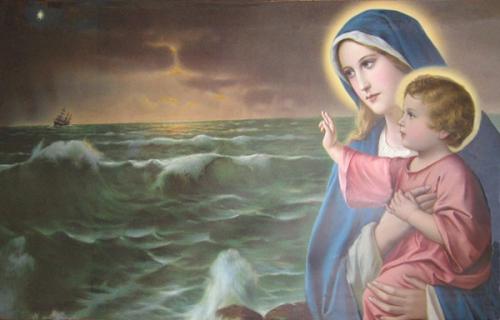 St Bonaventure,nom,Marie,Ave Maria,Salutation angélique,mère de Dieu,ange,reine,étoile de la mer,pureté,puissance,splendeur,amertume,compassion,souffrance