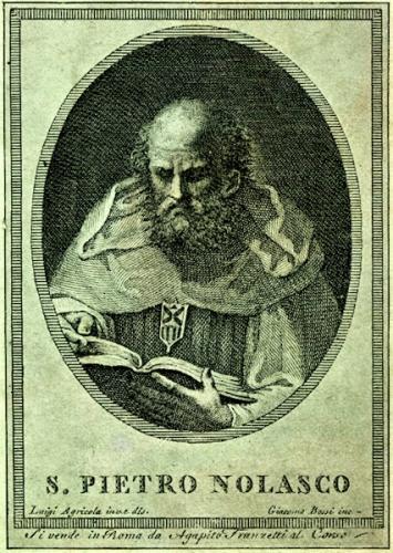 St Pierre Nolasque,religieux