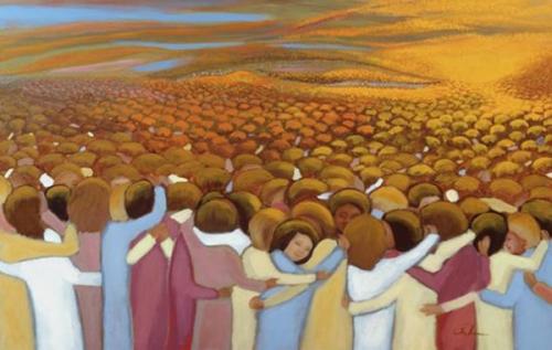 prière,saints,bienheureux,éternité,paix,repos,tranquillité,bonheur,allégresse,gloire,immortalité,contemplation,divinité,pécheurs,faiblesse