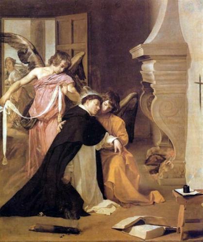 St Thomas d'Aquin,religieux,docteur de l'Eglise
