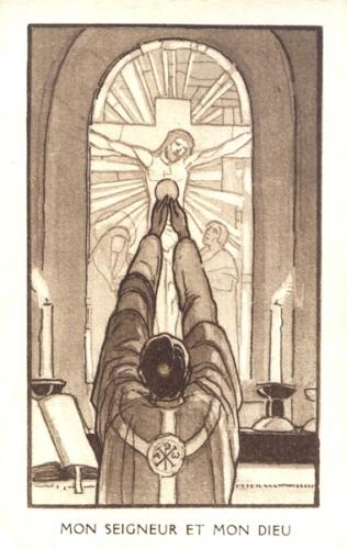 Raoul Plus,messe,sacrifice,offrande,chrétiens,hostie,corps,sang,Jésus,Christ,réparation,immolation,prêtre
