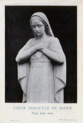 Benoît XVI,Coeur,Immaculé,Marie,Jésus,Esprit Saint