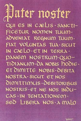 oraison dominicale,pater,notre,père,Louis Thomassin,prière,corps,christ,eglise