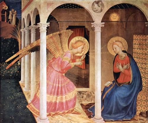 Annonciation,Seigneur,Vierge,Marie