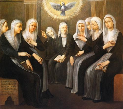 Ste Angèle Merici,vierge,fondatrice,ursulines