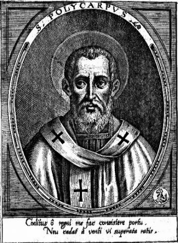 St Polycarpe de Smyrne,évêque,martyr