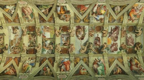 Henri Caffarel,oraison,prière,grâce,Michel-Ange,plafond,Sixtine,Dieu