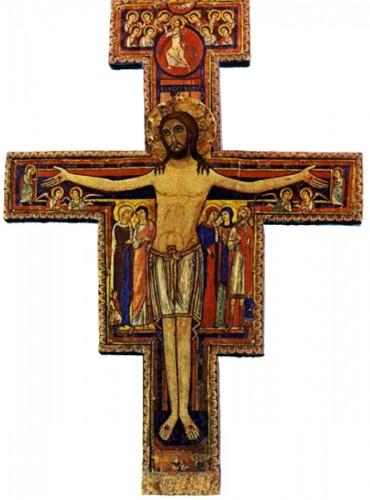 prière,saint françois d'assise,crucifix,saint damien