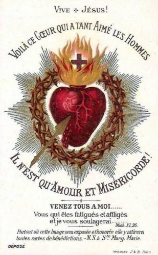 Léon Dehon,Coeur,Sacré-Coeur,Jésus,vertus,patience,Claude la Colombière,Marguerite-Marie,pécheur,couronne,épines,croix,passion,réparation,abandon