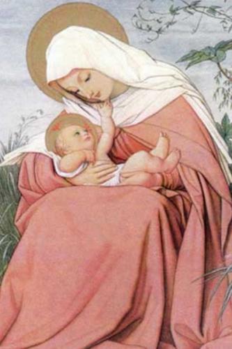 Josefa Menendez,prière,Vierge,Marie,mère,fils,Jésus-Christ,rédempteur,trinité,enfant