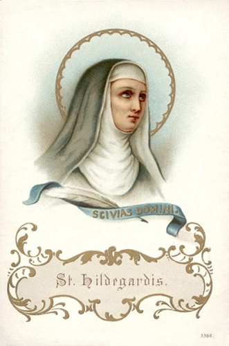prière,Hildegarde,Bingen