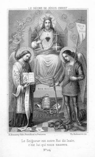 Dom de Monléon,fête,Christ Roi,plaisir,passions,honneurs,richesses,vanité,mensonge,bonheur,coeur,terre,ciel,Dieu