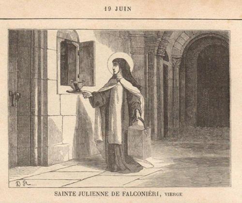 Julienne Falconieri,religieuse,