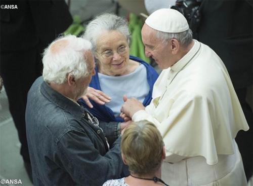 pape,françois,discours,pelerins,français,pauvres,précarité,atd,quart-monde,