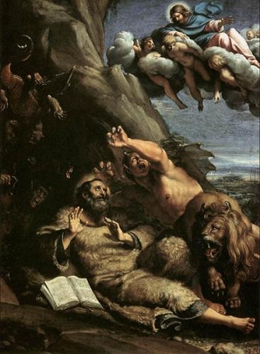 Alphonse Rodriguez,secours,tentations,ennemi,démon,combat,force,Dieu,juge,Sauveur,Jésus-Christ,ténèbres,lumière,St Jérôme,résistance,anges