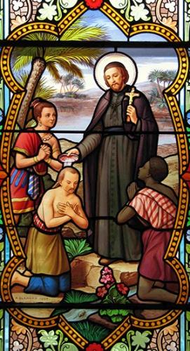 St François Xavier,religieux,jésuite,patron,missions