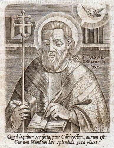 St Jean Chrysostome,évêque,confesseur,docteur