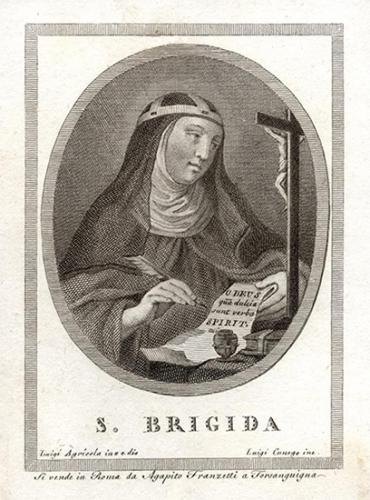 Ste Brigitte de Suède,mère de famille,veuve,religieuse,patronne de l'Europe