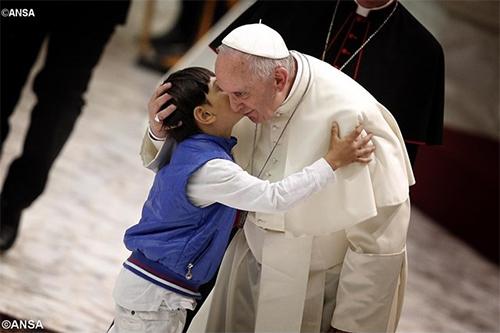 rencontre,pape,françois,enfants,fabrique de la paix,paix,justice,prière
