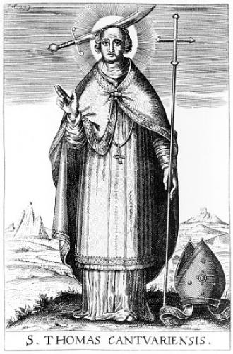 St Thomas Becket,évêque,martyr
