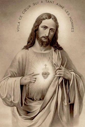 Coeur,Sacré Coeur,Jésus,Louis de Blois,Ste Chantal,St Augustin,litanies,amour,désir,dévotion,miséricorde,grâce