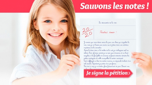Pétition,Sauvons les notes,SOS Education,notation,couleurs,najat,vallaud-belkacem,école,éducation,élèves,enseignement,notes,évaluation