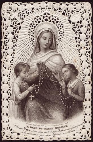 Hyacinte Lacomme,octobre,mois,Rosaire,prière,dévotion,Vierge Marie,Mère de Dieu,médiatrice,Fils,Jésus,Léon XIII
