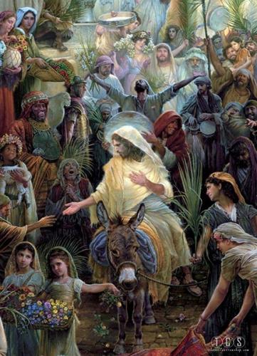 Rameaux,Jésus,Jerusalem,hozanna,amour,douceur,salut,grâces