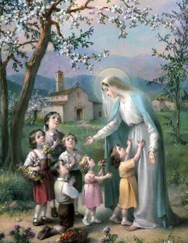 Dom Augustin Guillerand,prière,poésie,Marie,regard,mère,tendresse,coeur,âme,souffrance,caresse,frère,Jésus