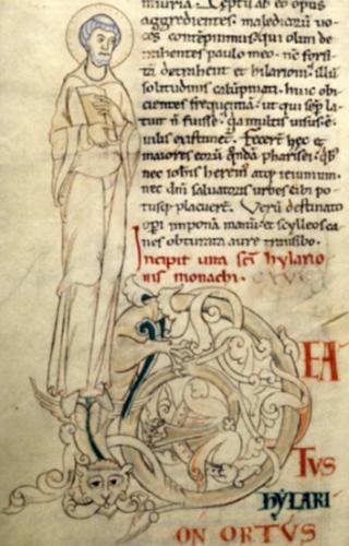 St Hilarion,abbé,