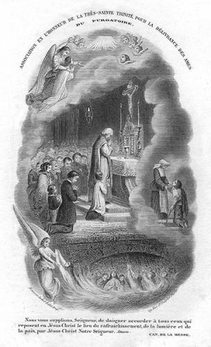 soulagement,délivrance,âmes,purgatoire,Coeur,Jésus,Louis de Blois,Madeleine de Pazzi,eucharistie,communion