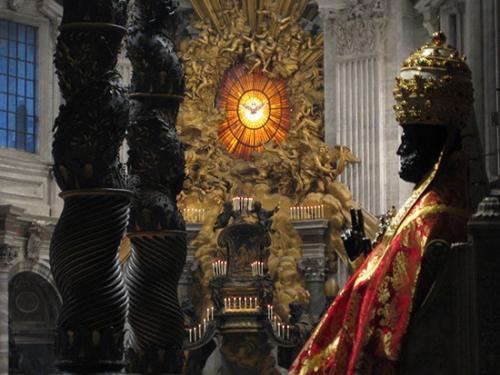 chaire de saint pierre,catechese,benoit xvi,2006