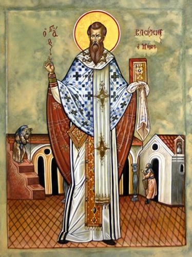 St Basile le Grand,évêque,docteur de l'Eglise