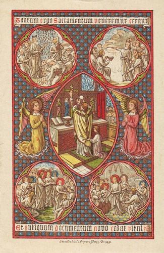 Catéchisme,Concile de Trente,Sacrifice,Messe,Croix