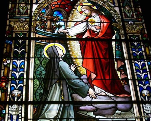 Idesbald van Houtryve,paix,loi,âme,amour,Dieu,Christ,Marguerite-Marie Alacoque,faiblesse,bassesse,effort,union