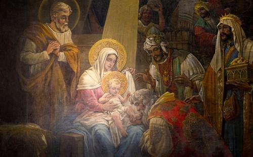 Léon le Grand,Epiphanie,sermon,mages,Jésus,enfant,humilité