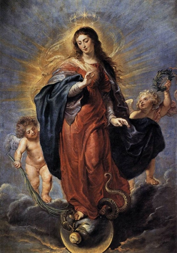 Immaculée Conception,Sainte Vierge Marie