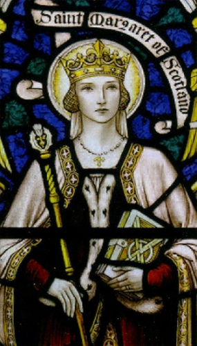 Ste Marguerite,reine,Ecosse,veuve