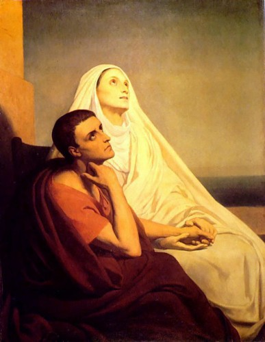 Benoît XVI,sainte,monique,saint augustin,foi,vérité,amour,confiance,espérance,prière,christ,sagesse,vérité