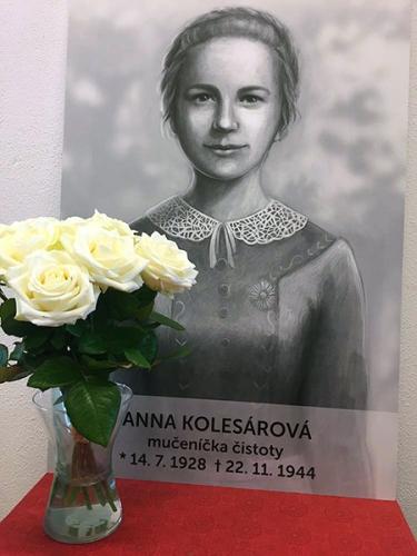 béatification,Anna Kolesarova,martyre,pureté,chasteté,Kosice,Slovaquie