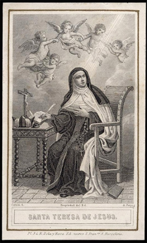 Ste Thérèse d'Avila,religieuse,carmélite,docteur de l'Eglise