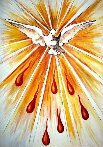 Bx John Henry Newman,Saint Esprit,paraclet,trinité,troisième Personne,amour,feu,flamme,charité,grâce