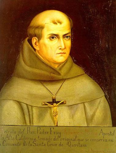 bienheureux,prêtre,franciscain,Junipero Serra,évangélisateur,Californie,etats-unis,canonisation