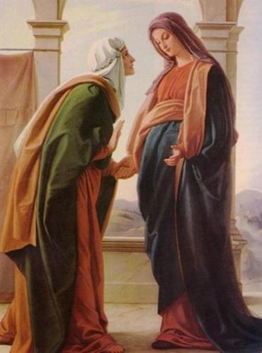 Visitation,Sainte Vierge,Marie,Dom Vandeur,Elisabeth,cousine,Jésus,Jean-Baptiste