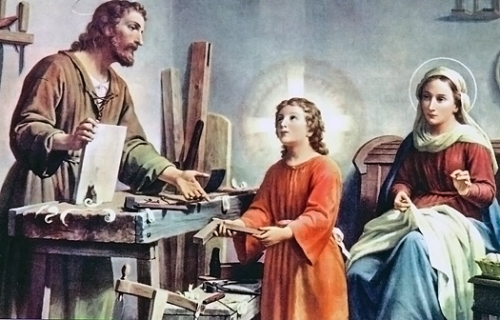 prière,st joseph,artisan,travailleur,pie XII