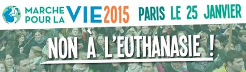 marche pour la vie,dimanche 25 janvier 2015
